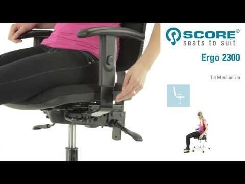 Score   Ergo 2300 Tilt Mechanism